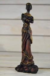 Africká žena s mečom č. 1 (v. 17,5 cm)