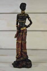 Africká žena s mečom č. 3 (v. 17,5 cm)