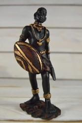 Africký muž s mečom č. 4