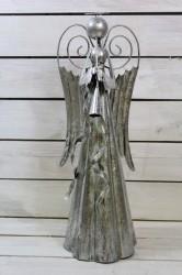 ANJEL plechový s trúbkou (v. 50 cm, š.