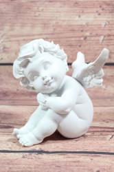 Anjelik - biely (v. 17 cm) 2.