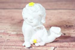 Anjelik s hviezdou vo vlasoch ( v. 7 cm)