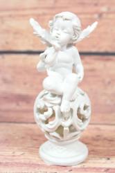 Anjelik sediaci na guli VZOR 1. (v. 13 cm)