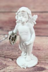 Anjelik so srdiečkom v ruke (v. 10 cm) 1.