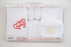 Baby 7-dielna súprava - biela B1