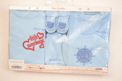 Baby 7-dielna súprava - modrá B1