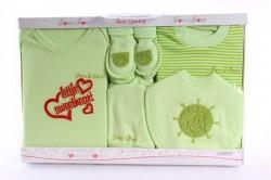 Baby 7-dielna súprava - zelená