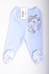 16ec79fd3723 Baby nohavice so zvieratkami - bledomodré B1