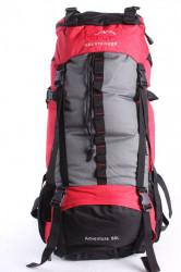 Batoh B32 EYE MOUNTAINEER 65 l (68x36x22 cm) - červeno-čierny
