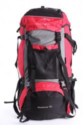 Batoh B33 EYE MOUNTAINEER 65 l (68x36x22 cm) - červeno-čierny