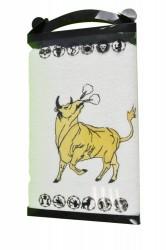 Biely uterák býk 50/90