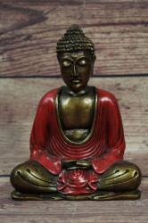 Budha - bordové šaty (v. 16 cm)