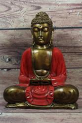 Budha - bordové šaty (v. 30 cm)