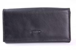 Čašnícka peňaženka BESTITALIA (D111-2V) - čierna (19x10,5 cm)