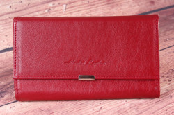 Čašnícka peňaženka EXTRA na kreditné karty (7403) - bordová (18x10x3 cm)
