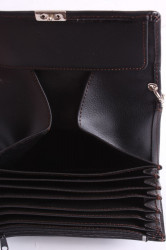 Čašnícka peňaženka s retiazkou MARCO AMRINI (18x10 cm) - čierna #1