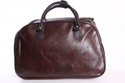 Cestovná taška (C3524) - tmavohnedá (45x29x24 cm)