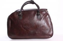 Cestovná taška (C3524) - tmavohnedá (50x33x27 cm)