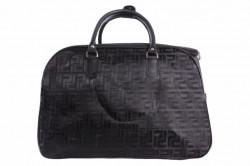 Cestovná taška lesklá - čierna (49x33x27 cm)