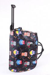 Cestovná taška na kolieskach VZOR D3268 (52x37x30 cm) - čierna #1