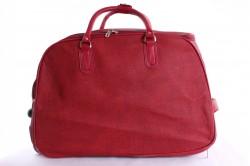 Cestovná taška veľká na kolieskach VZOR 2. - červená