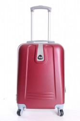 Cestovný kufor BONTOUR (55x37x20 cm s kolieskami) - bordový