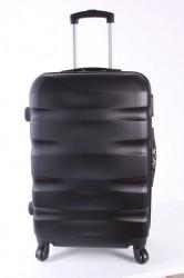 Cestovný kufor BONTOUR (70x45x25 cm s kolieskami) - čierny
