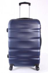 Cestovný kufor BONTOUR (70x45x25 cm s kolieskami) - tmavomodrý