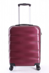Cestovný kufor CABIN (55x40x20 cm s kolieskami) - bordový