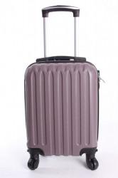 Cestovný kufor LEONARDO DA VINCI - fialová (32x42x20 cm + 5 cm kolieska)
