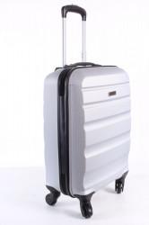 Cestovný kufor malý BONTOUR (55x40x20 cm) - strieborno-sivý #1