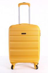 Cestovný kufor malý BONTOUR (55x40x20 cm) - žltý