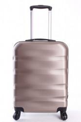 Cestovný kufor malý CABIN (55x40x20  + 5 cm kolieska) - šampanskej farby
