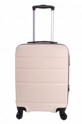 Cestovný kufor malý CABIN (55x40x20 cm + 5 cm) - krémový