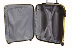 Cestovný kufor malý CABIN (55x40x20 cm + 5 cm) - žltý #1