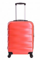 Cestovný kufor malý CABIN (55x40x20 cm s kolieskami) - oranžový