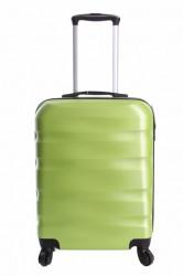 Cestovný kufor malý CABIN (55x40x20 cm s kolieskami) - zelený