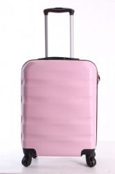 Cestovný kufor malý CABIN (55x40x20cm + 5cm kolieska) - bledoružový