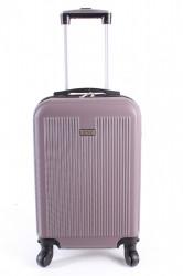 Cestovný kufor malý LEONARDO DA VINCI - fialový (50x35x20 cm + 5 cm kolieska)