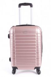 Cestovný kufor malý LEONARDO DA VINCI - staroružový (50x37x21 cm + 5 cm kolieska)