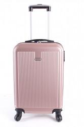 Cestovný kufor malý LEONARDO DA VINCI - staroružový (53x37x23 cm + 5 cm kolieska)