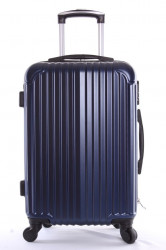 Cestovný kufor-malý-tmavomodrý 2 (56x38x23 cm+kolieska)