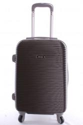 Cestovný kufor plastový-stredný-tmavosivý VZOR 3 (63x42x28