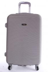 Cestovný kufor plastový-veľký-svetlosivý VZOR 3 (70x50x30