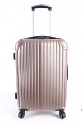 Cestovný kufor stredný HA CHI - béžový (57x40x25 cm + 5 cm kolieska)