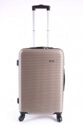 Cestovný kufor stredný HA CHI - béžový (58x40x24 cm + 5 cm kolieska)