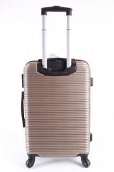 Cestovný kufor stredný HA CHI - béžový (58x40x24 cm + 5 cm kolieska) #1