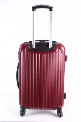 Cestovný kufor stredný HA CHI - bordový (57x40x25 cm + 5 cm kolieska) #1