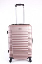 Cestovný kufor stredný LEONARDO DA VINCI - staroružový (60x43x25 cm + 5 cm kolieska)