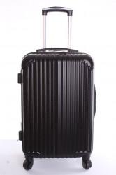 Cestovný kufor-veľký-čierny VZOR 2 (70x50x30 cm+kolieska)